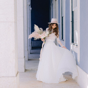 Let's Bee Together - it's all about the hat bridal inspiration