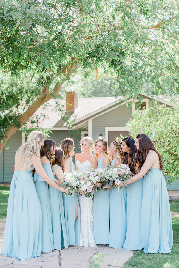 lush green arizona farm wedding – caitlin & marco