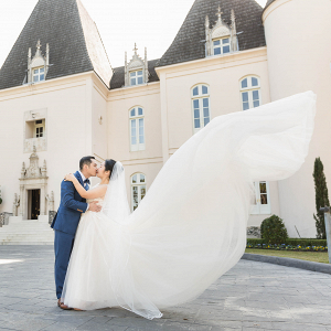 Let's Bee Together - chateau cocomar wedding – qiao & gabriel