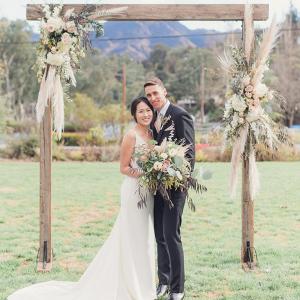 Let's Bee Together - lakeside wedding in malibu – robin & jen