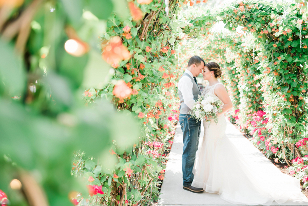 Let's Bee Together - romantic garden wedding – amanda & brad