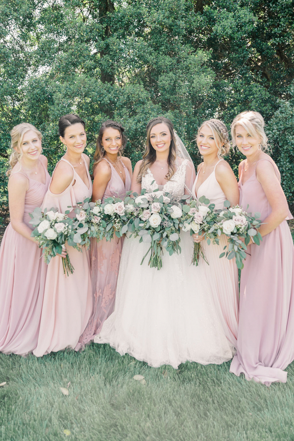 Let's Bee Together - rustic chic blush & green barn wedding – corey & chandler