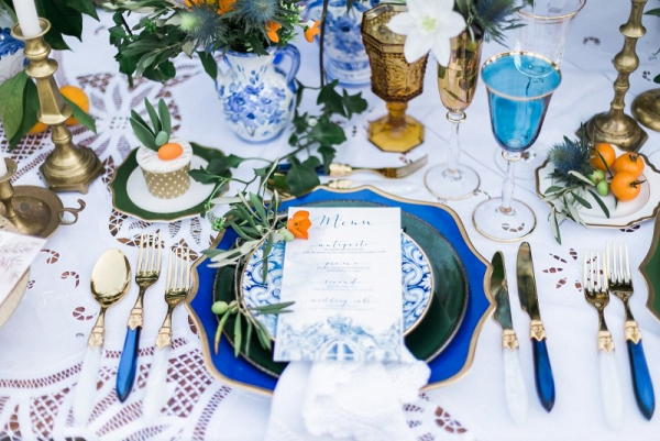 Let's Bee Together - sicily inspired wedding
