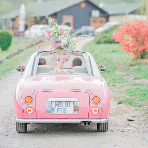 cherry blossom inspired shoot in the heart of transylvania