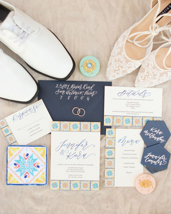 Let's Bee Together - spanish inspired styled shoot