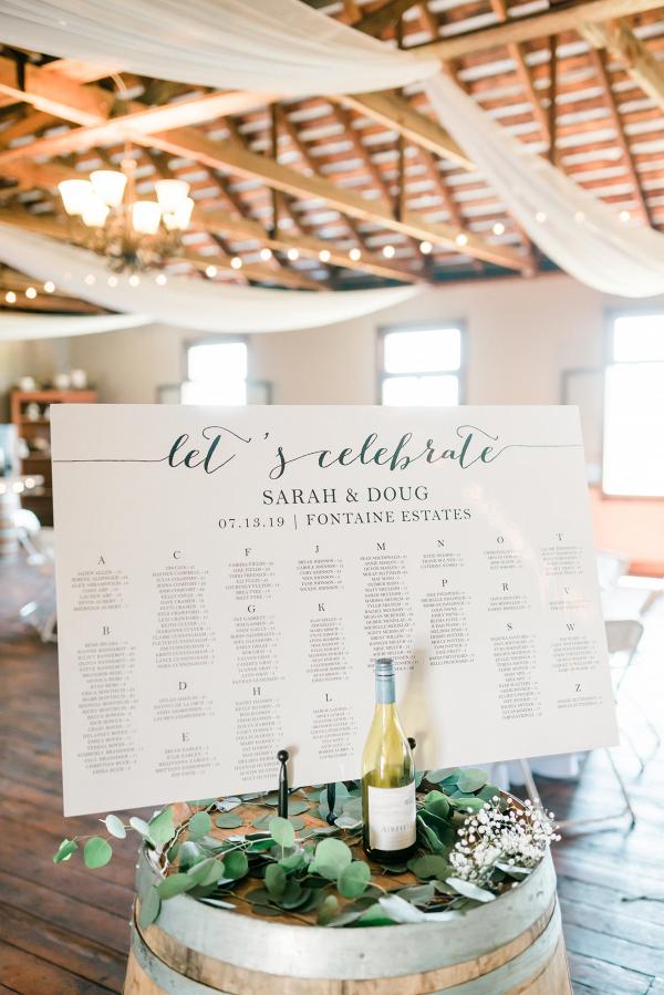 Let's Bee Together - stunning winery wedding – sarah & doug