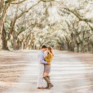 Savannah engagement session