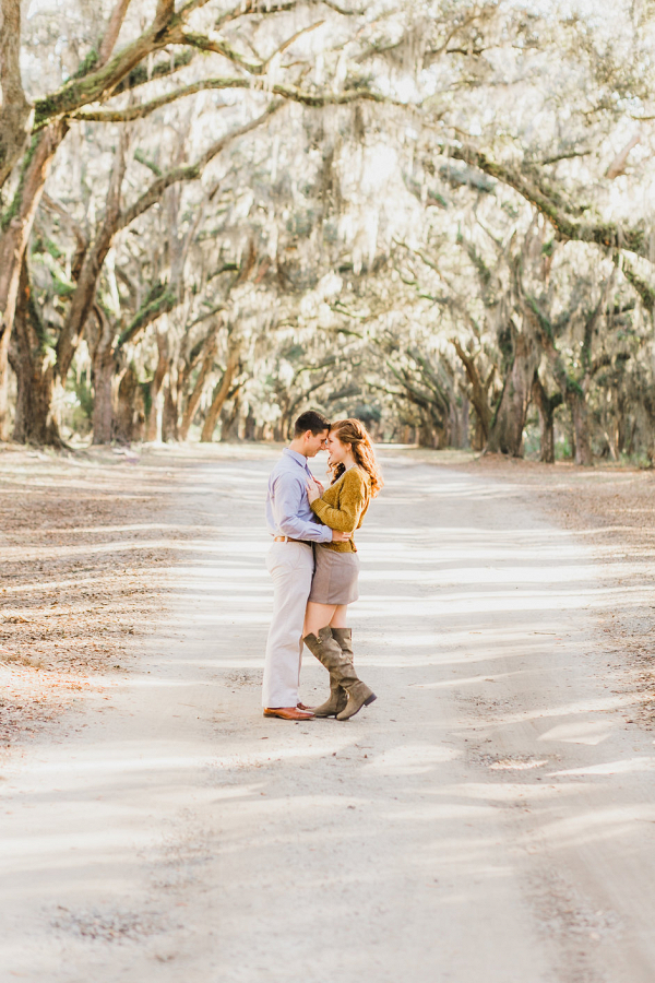 Savannah engagement session