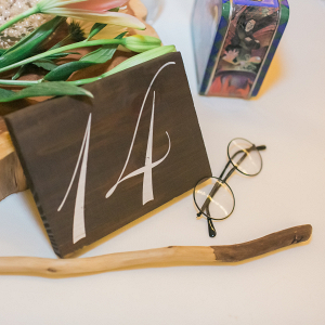 Harry Potter themed centerpiece