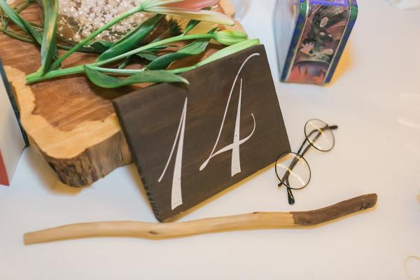 Harry Potter themed centerpiece