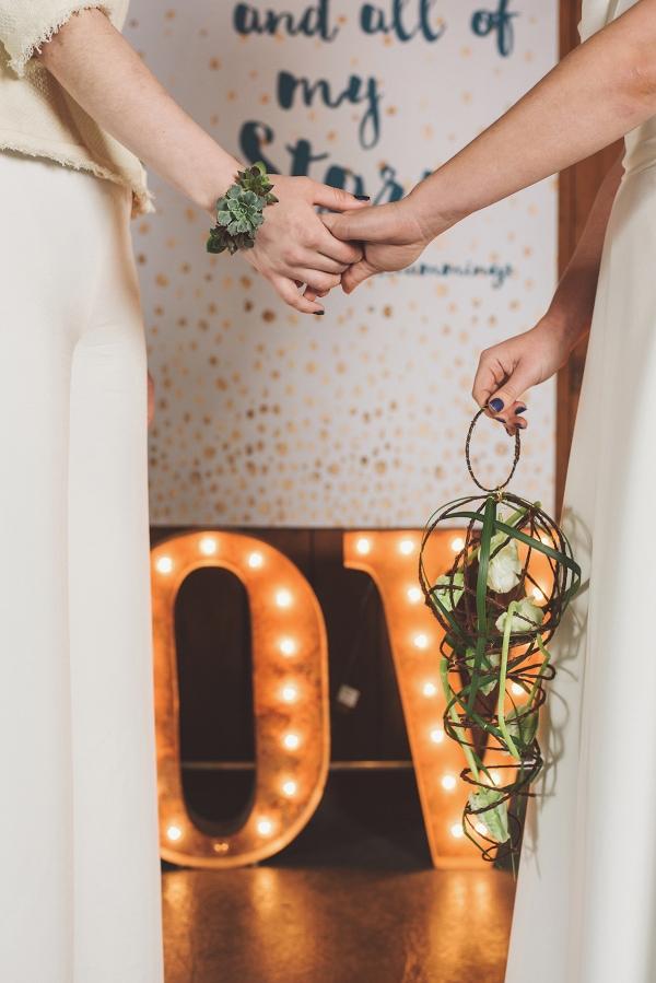 Creative Bridal Bouquet Alternative