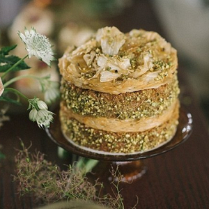 Basbousa wedding cake