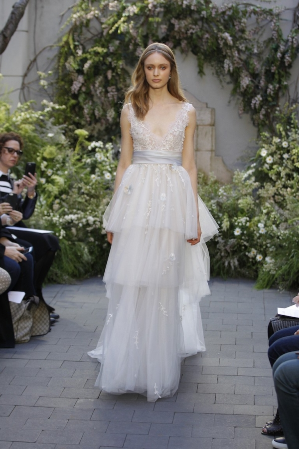 Monique Lhuillier Bridal Trends Spring 2017