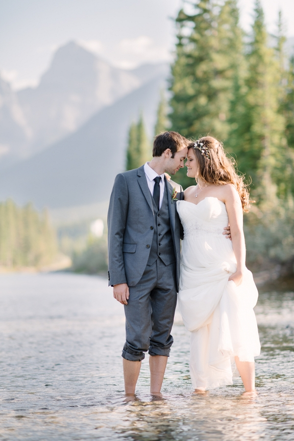 Rustic Canadian Wedding
