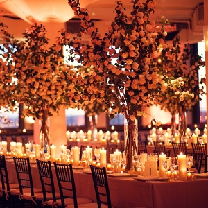Elegant Reception space at Tribeca Rooftop