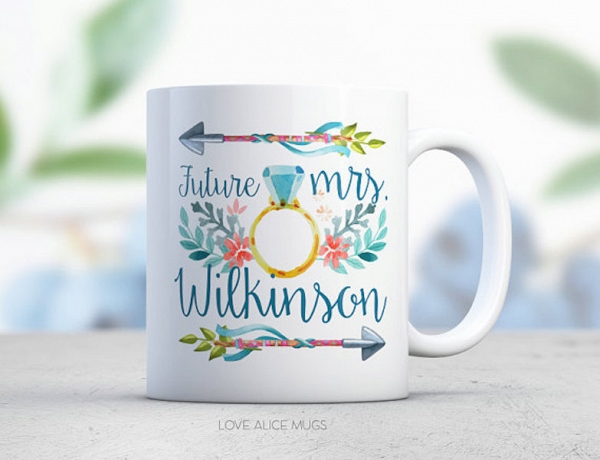 Custom Future Mrs. Coffee Mug