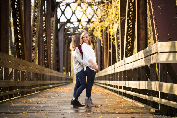 Kenyon College Campus Fall Engagement Session