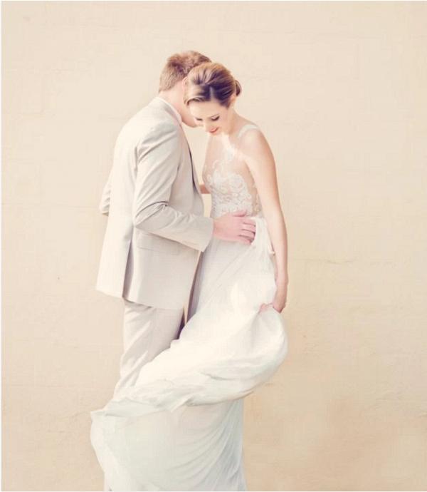 George Wu Couture Wedding Dress