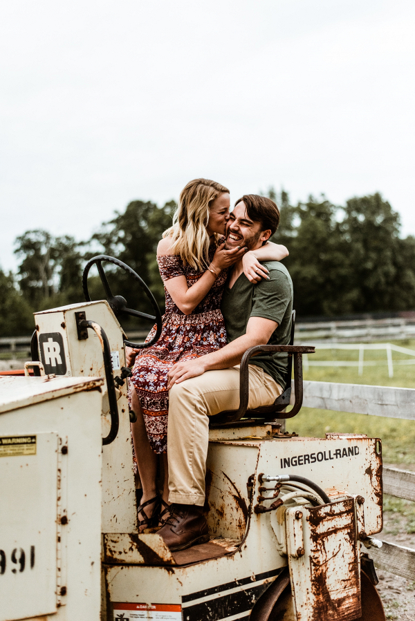 Farm engagement session