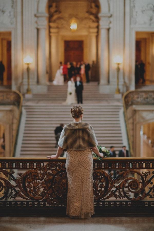 Stylish San Francisco City Hall Elopement