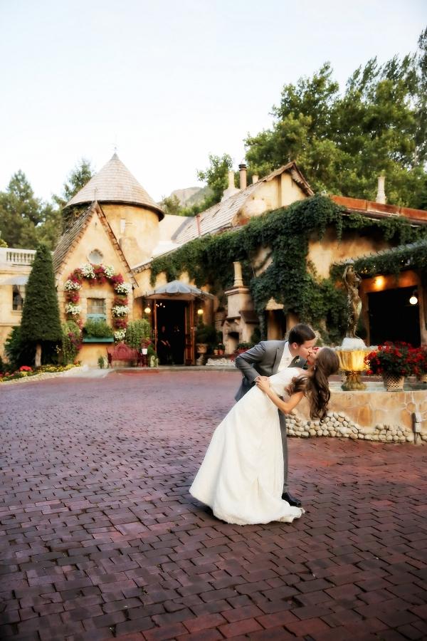 Wedding at La Caille Restaurant in Utah