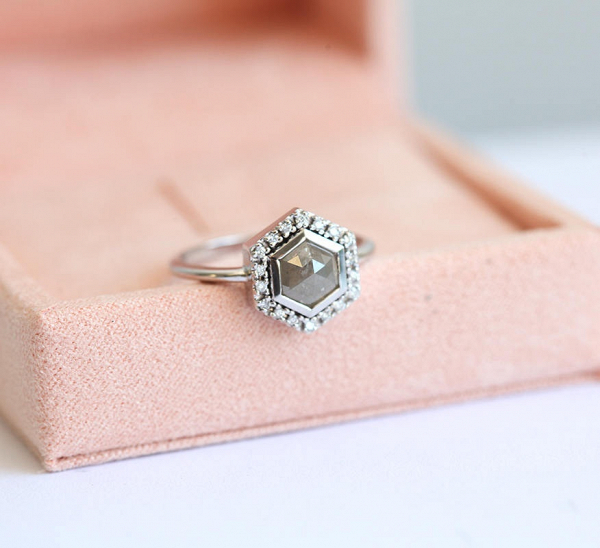 slice ring rings freeform gray etsy il diamond market engagement grey