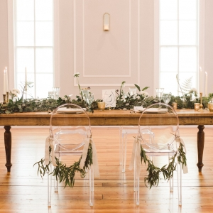 Ivy Covered Natural Wedding Styled Shoot