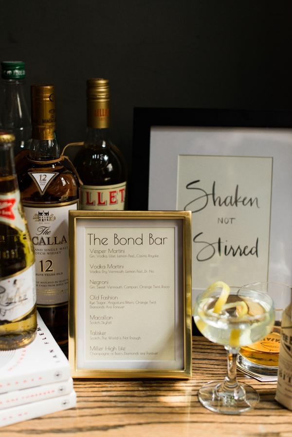James Bond-Inspired Cocktails