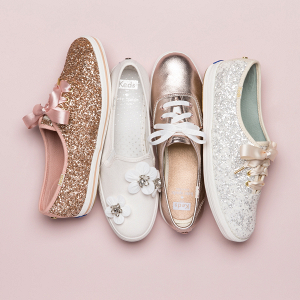 Keds for Kate Spade bridal shoes