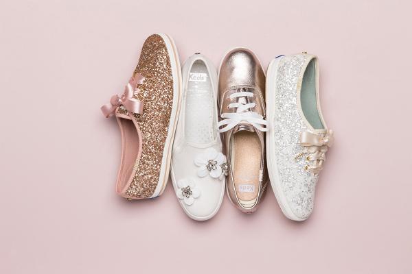 Keds for Kate Spade bridal shoes