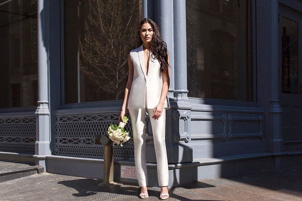 Lakum Pantsuit from Spring/Summer 2017 Bridal Collection