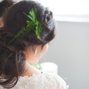 Fern Bridal Hairpiece