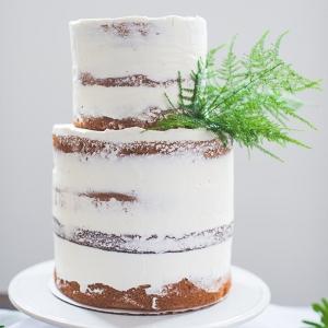 Naked Dusted Cake