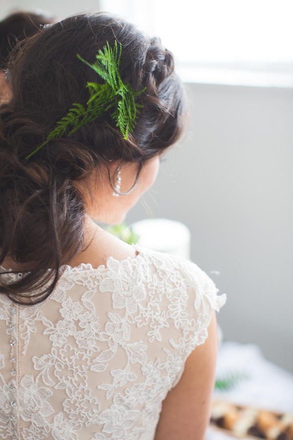 Fern Bridal Hairpiece
