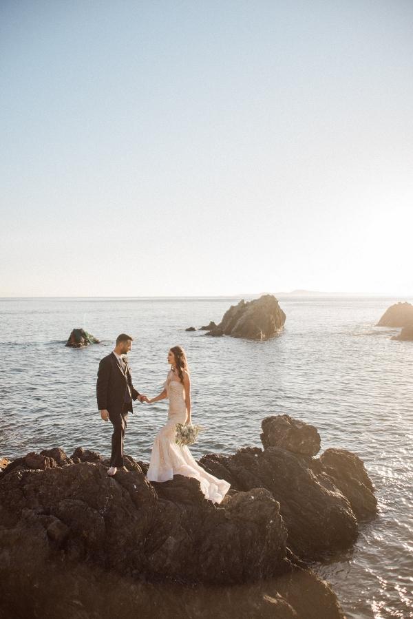 Luxe Mermaid-Inspired Coastal Styled Shoot