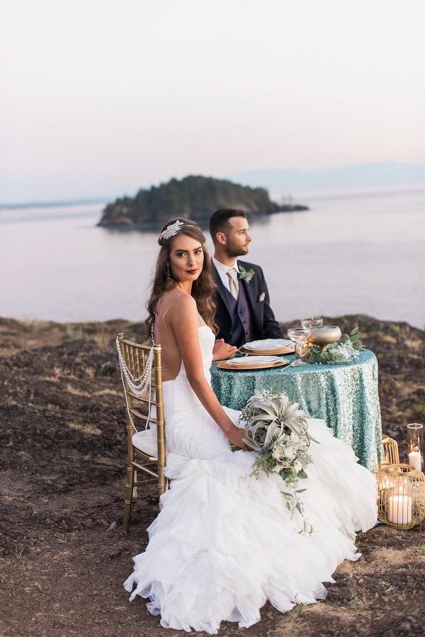 Luxe Mermaid-Inspired Wedding Inspiration