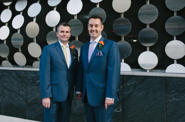 Gay Brooklyn wedding