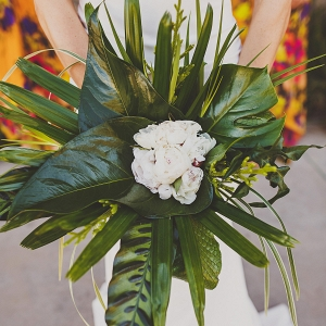 Palm Leaf Bouquet