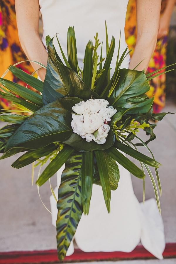 Palm Leaf Bouquet