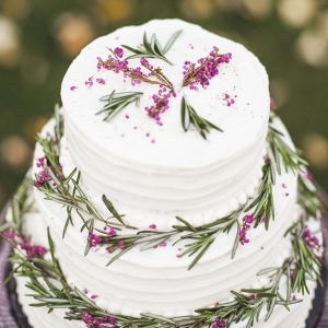 Rosemary Wedding Cake