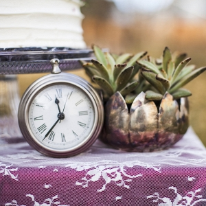 Clock Wedding Decor