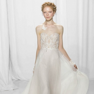 Reem Acra Bridal Fall 2017 Look 2