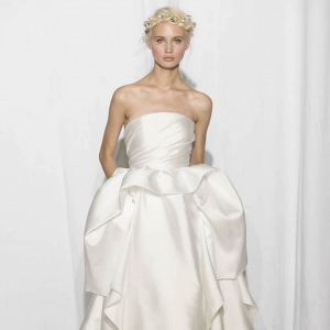 Reem Acra Bridal Fall 2017 Look 16