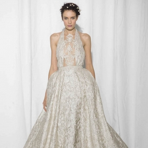 Reem Acra Bridal Fall 2017 Look 19