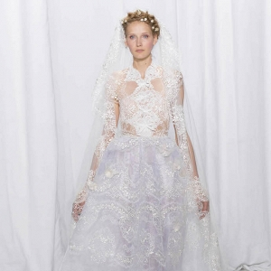 Reem Acra Bridal Fall 2017 Look 27
