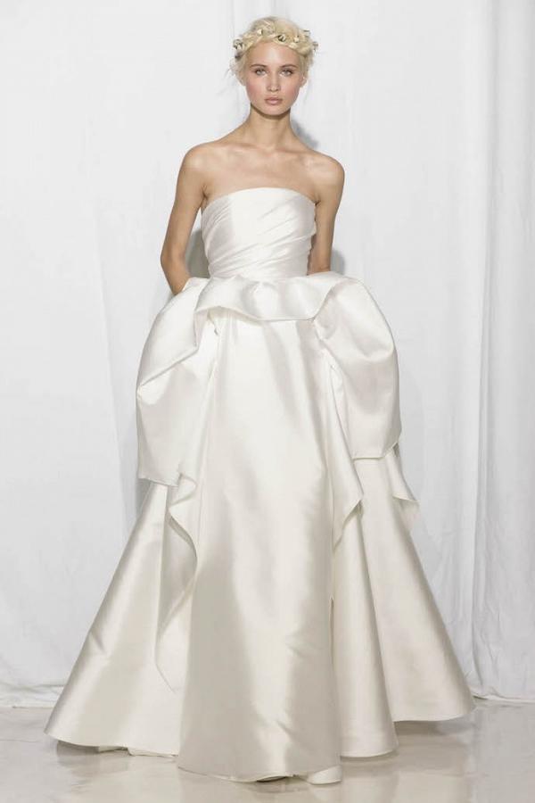 Reem Acra Bridal Fall 2017 Look 16