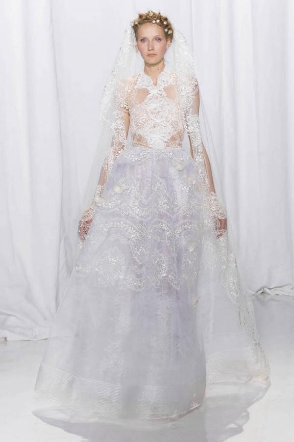 Reem Acra Bridal Fall 2017 Look 27
