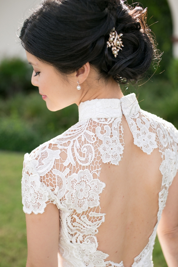 Open-Back Wedding Dress