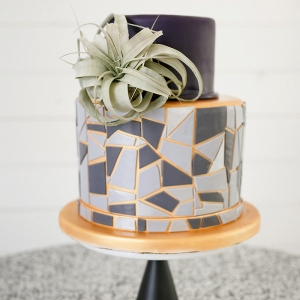 geometric-air-plant-wedding-cake-jenny-demarco-photography
