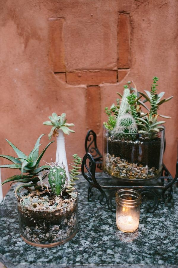 Cactus Wedding Floral Design